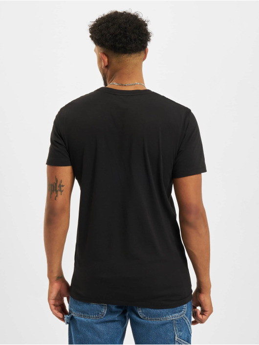 Jack & Jones T-skjorter Jprblaline Crew Neck svart