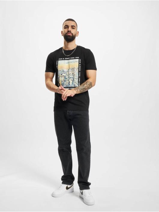 Jack & Jones T-skjorter Jcobooster svart