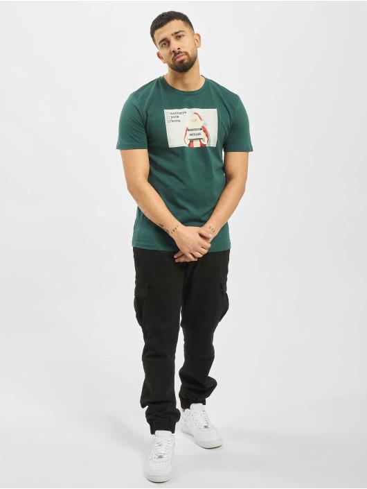 Jack & Jones T-skjorter jorSantaparty turkis