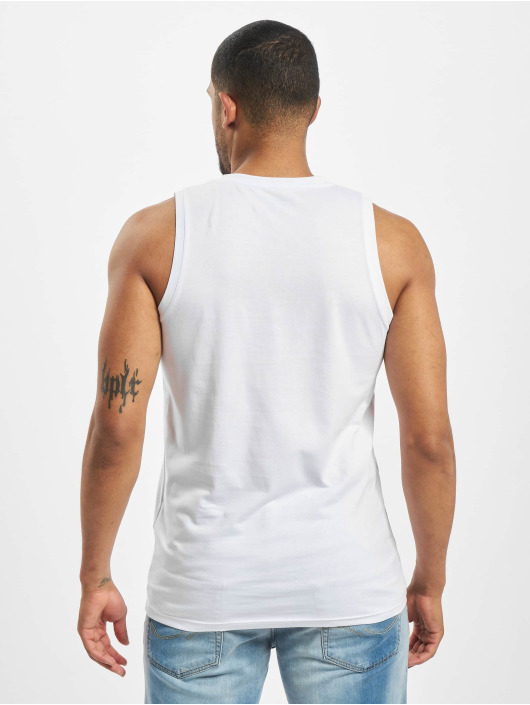 Jack & Jones Tank Tops jorFlaky Basic bílý