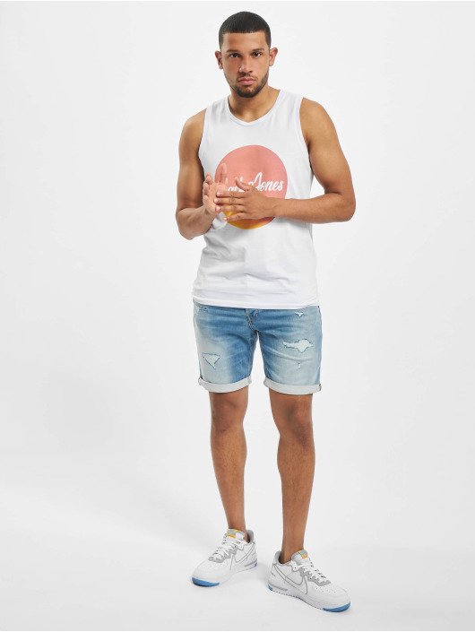Jack & Jones Tank Tops jorFlaky Basic hvid