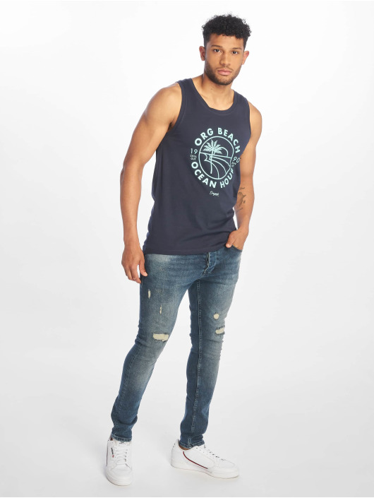 Jack & Jones Tanktop jorShaden blauw