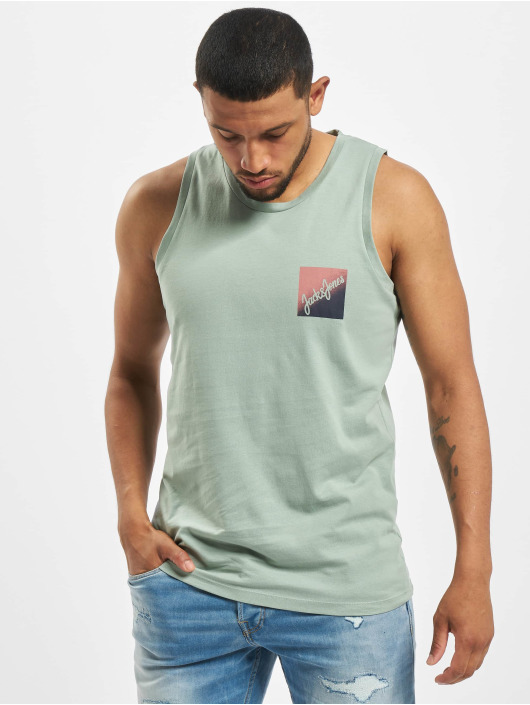 Jack & Jones Tanktop jorFlaky Basic groen