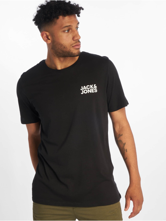 Jack & Jones Tričká jjeCorp Logo èierna