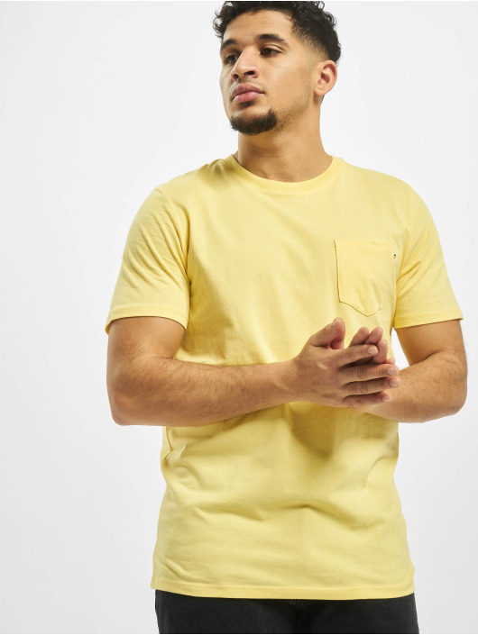 Jack & Jones Tričká jjePocket O-Neck Noos žltá