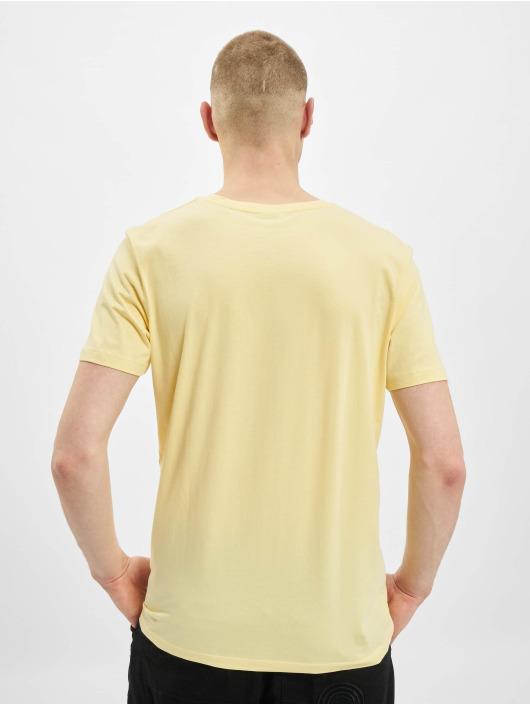 Jack & Jones Tričká jjPrime žltá