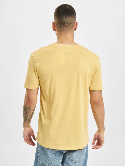 Jack & Jones Tričká JOR Azure žltá