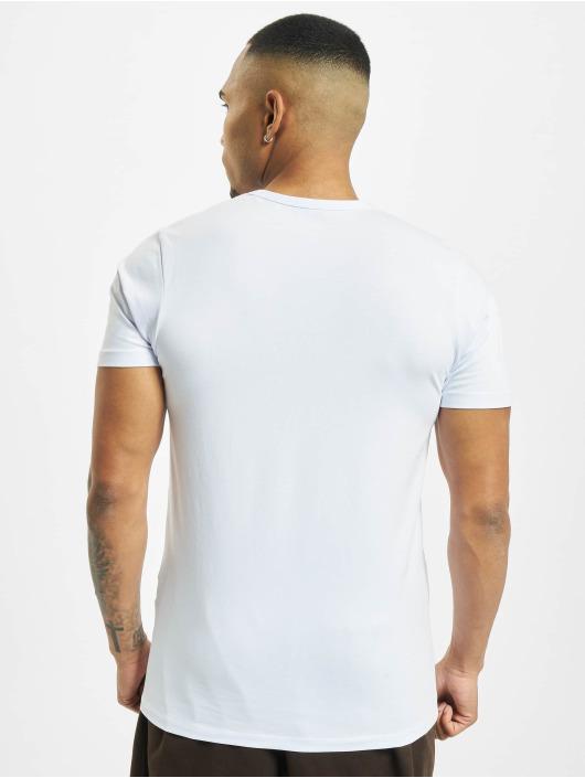 Jack & Jones Tričká Basic O-Neck biela