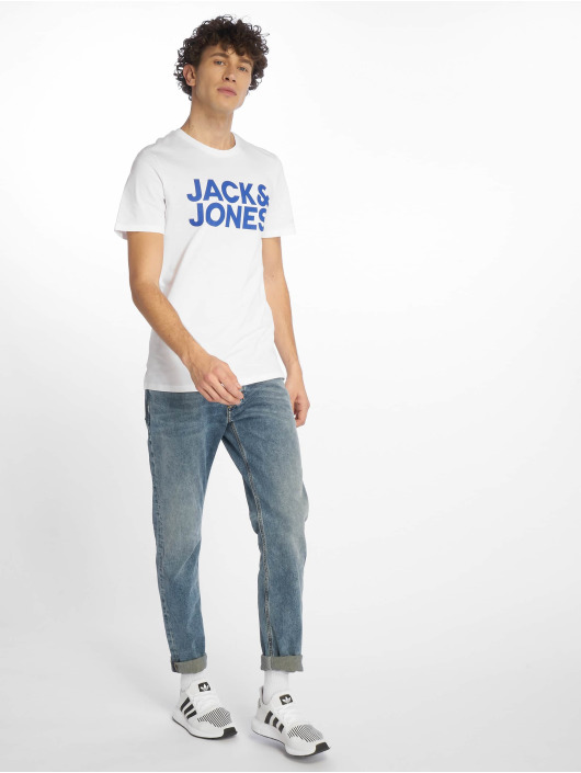 Jack & Jones Tričká jjeCorp biela