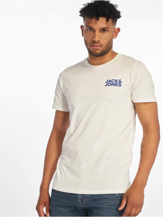 Jack & Jones Tričká jjeCorp Logo biela