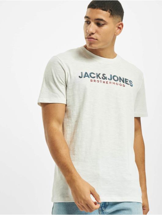 Jack & Jones Tričká jj30Jones Slub biela