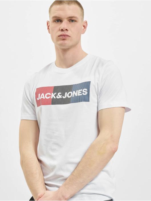 Jack & Jones Tričká jjeCorp Logo Noos biela