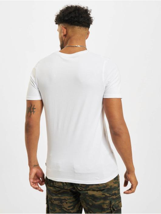 Jack & Jones Tričká Jjeorganic O-Neck biela