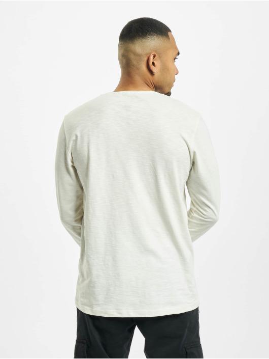 Jack & Jones Tričká dlhý rukáv jorAutumn Organic biela