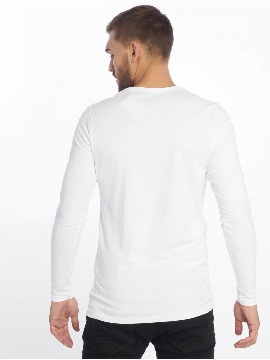 Jack & Jones Tričká dlhý rukáv Core Basic biela