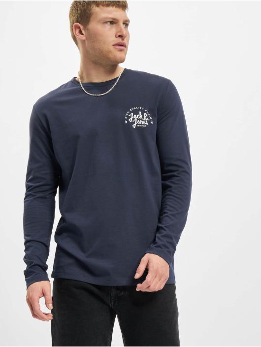 Jack & Jones Tričká dlhý rukáv Jjkimbel modrá