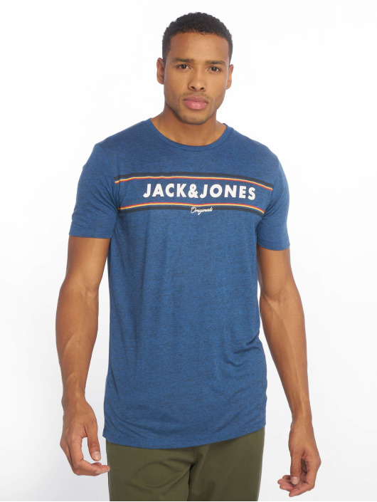 Jack & Jones Tričká jorTuco modrá