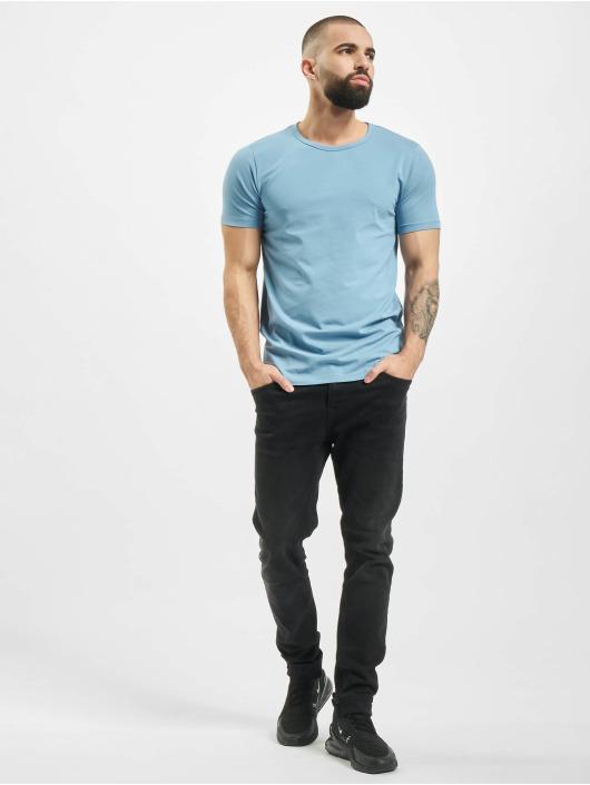 Jack & Jones Tričká Core Basic modrá