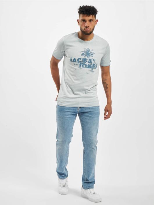 Jack & Jones Tričká jorAbre modrá
