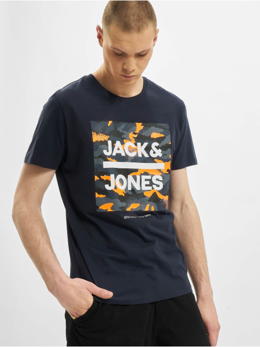 Jack & Jones Tričká jjPrime modrá