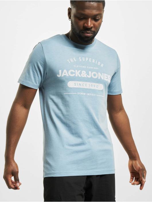 Jack & Jones Tričká jjeJeans Noos modrá