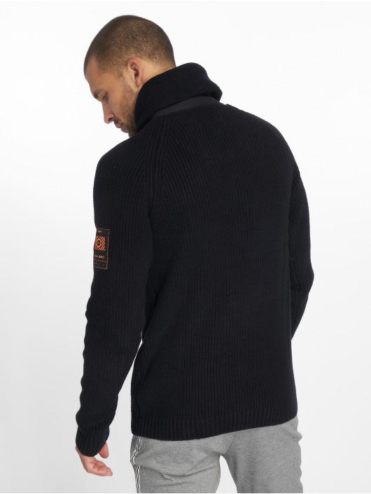 Jack & Jones trui jcoMemphis Knit Shawl zwart
