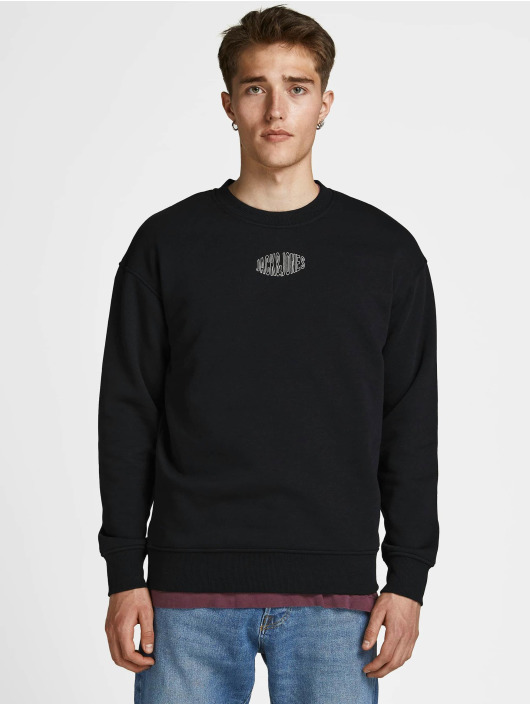Jack & Jones trui Jorworld zwart