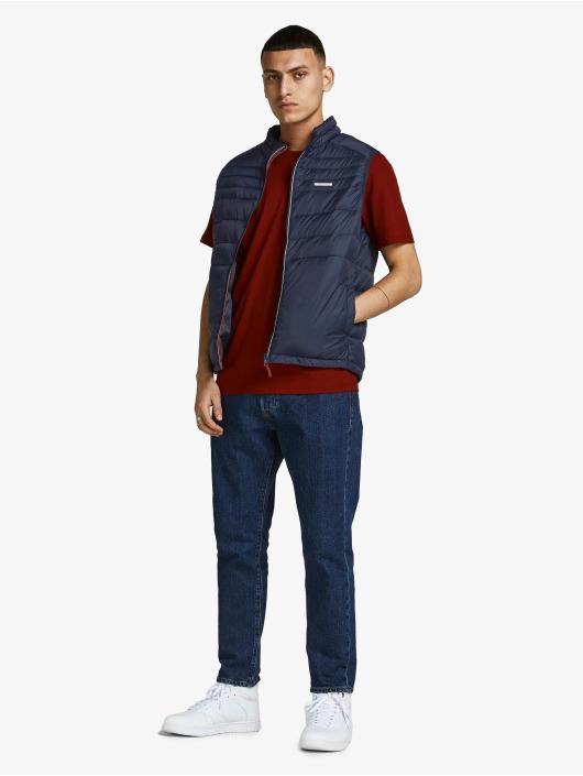 Jack & Jones Vest Jjeace Bodywarmer Collar blue