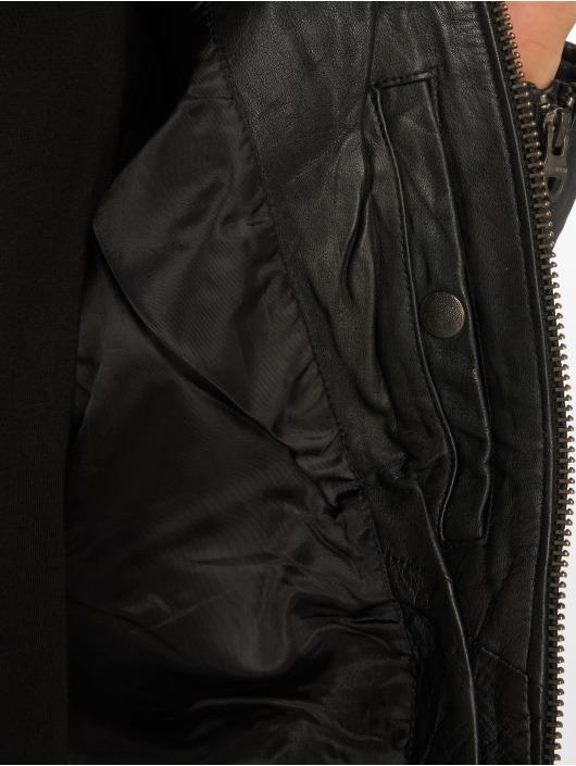Jack & Jones Veste & Blouson en cuir jprRichard noir