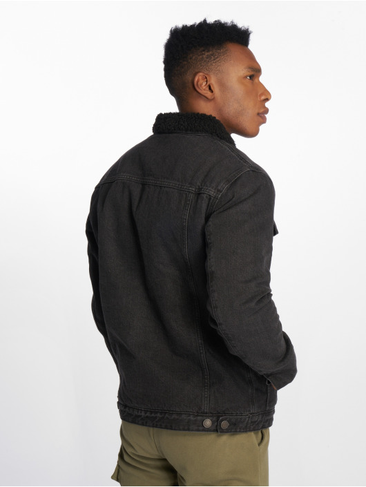 Jack & Jones Veste Jean jjiEdward noir