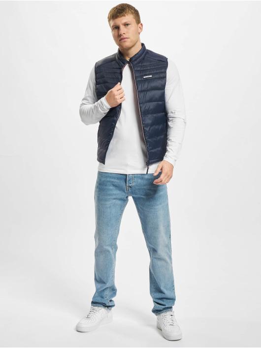 Jack & Jones Vesty Jjeace Bodywarmer Collar modrý