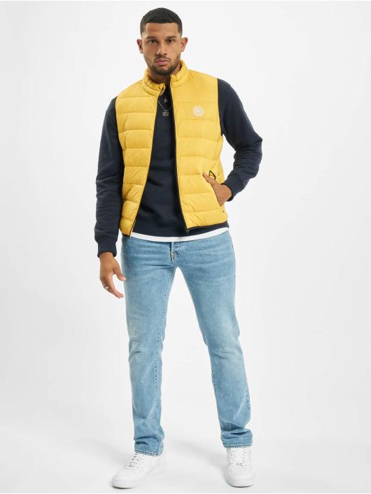 Jack & Jones Weste jjeMagic Bodywarmer Collar gelb
