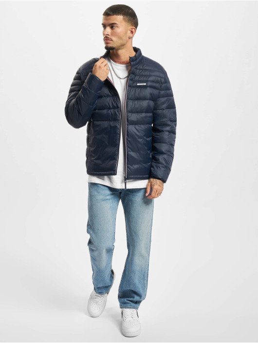 Jack & Jones Winter Jacket Jjeace Collar blue