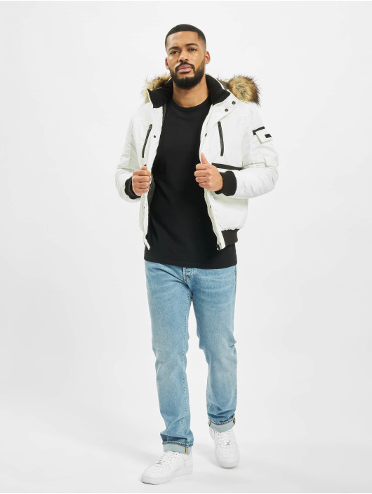 Jack & Jones Winterjacke jcoGlobe weiß