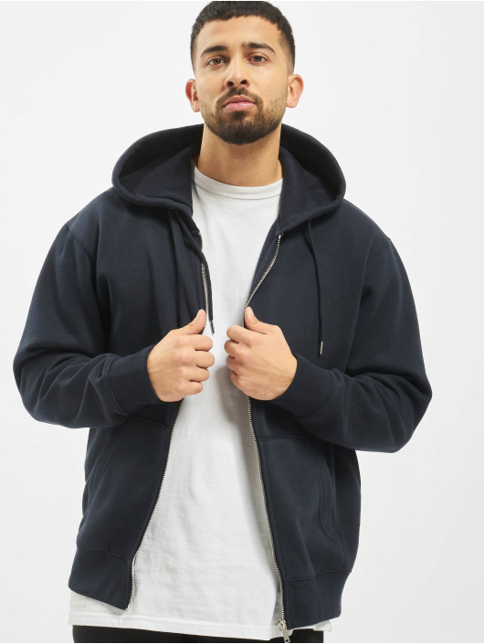 Jack & Jones Zip Hoodie jjeSoft blue