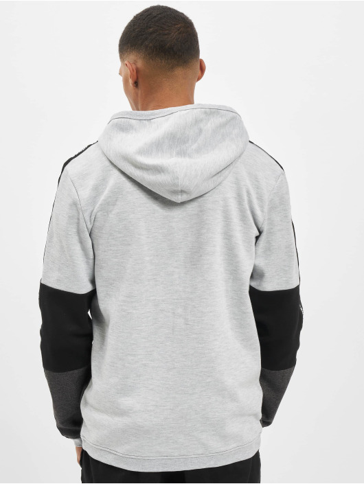 Jack & Jones Zip Hoodie jcoKally grå