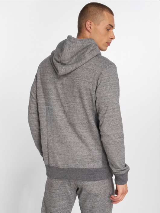 Jack & Jones Zip Hoodie jjeSpace gray