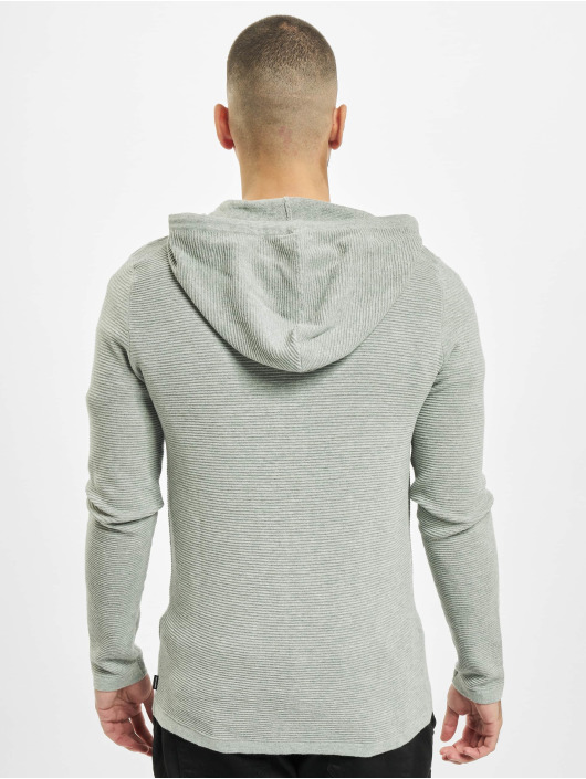 Jack & Jones Zip Hoodie jjeLiam Knit Noos grey