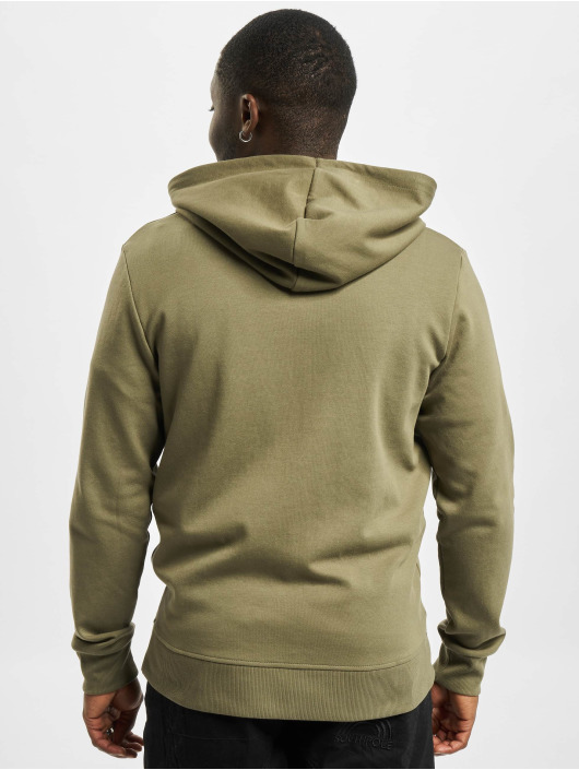 Jack & Jones Zip Hoodie jjeBasic Noos olivová