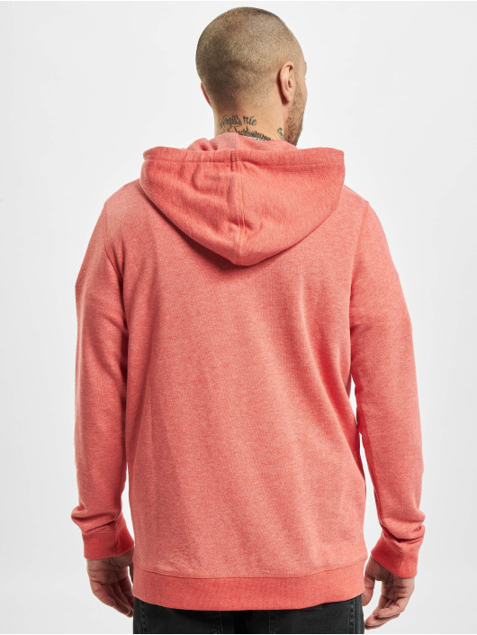 Jack & Jones Zip Hoodie jjvRecycle red