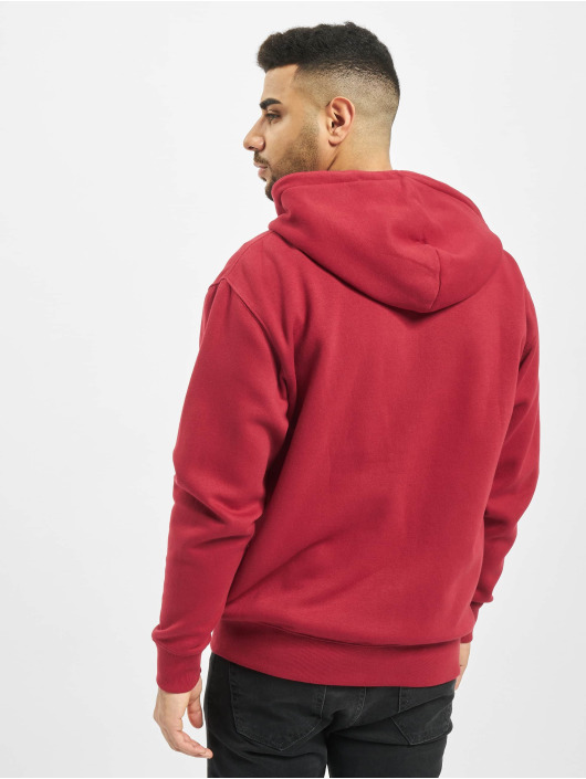 Jack & Jones Zip Hoodie jjeSoft red