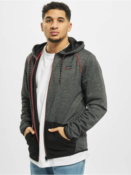 Jack & Jones Zip Hoodie jcoColts schwarz