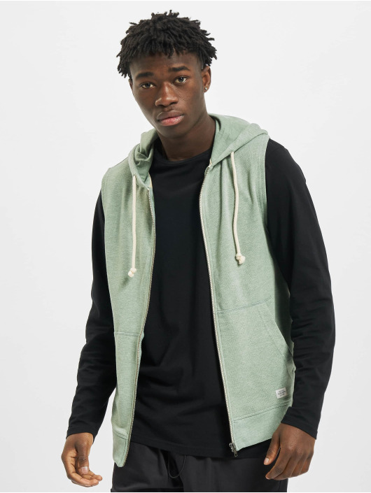 Jack & Jones Zip Hoodie jorRecycle zielony