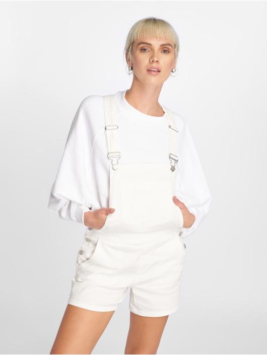 JACQUELINE de YONG Kalhoty s laclem jdyCate bílý