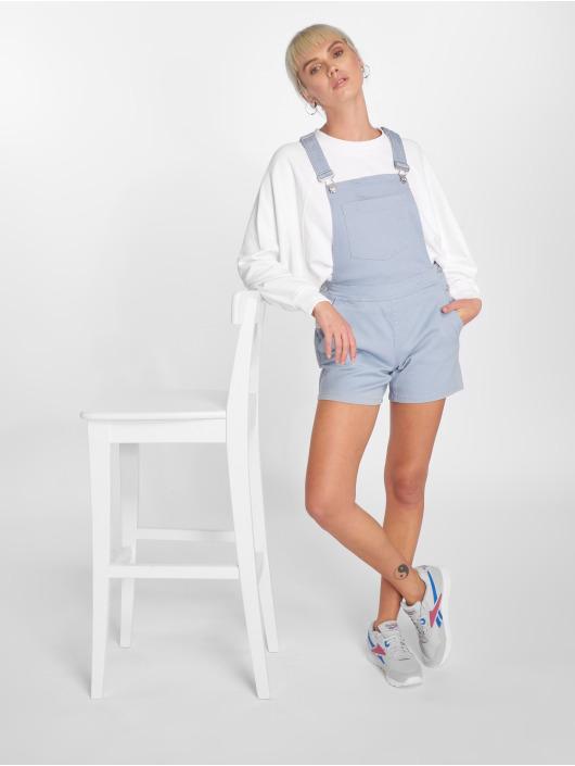 JACQUELINE de YONG Kalhoty s laclem jdyCate modrý
