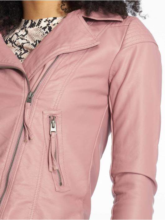 JACQUELINE de YONG Leather Jacket jdyDana Faux rose