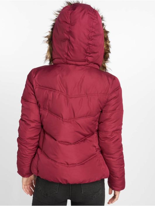 JACQUELINE de YONG Manteau hiver jdyElena rouge