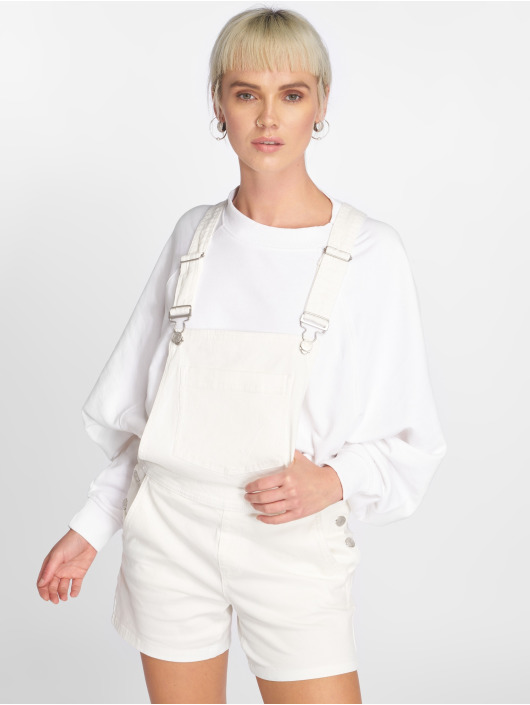 JACQUELINE de YONG Nohavice na traky jdyCate biela