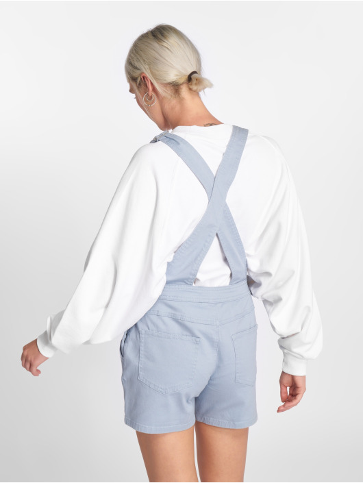 JACQUELINE de YONG Nohavice na traky jdyCate modrá