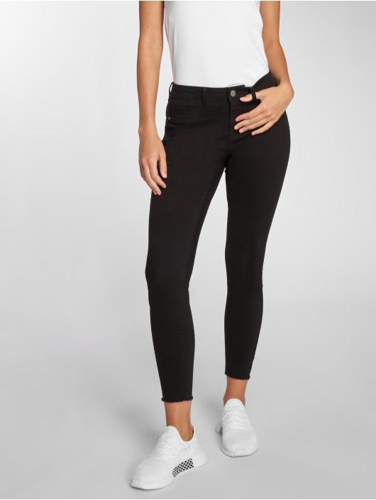 JACQUELINE de YONG Skinny Jeans jdyFive Regular Ankle czarny